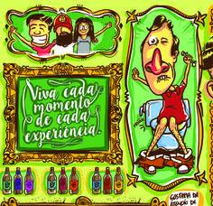 A vida acontece no dia a dia. #illustration #color #art viniribeiro.com