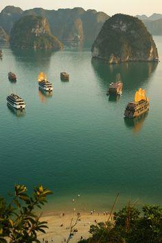 Ha Long Bay in Asia