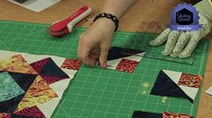 Quilting Quickly: Stained Glass - Throw Size Quilt Pattern