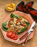 Beef Caesar Rice Salad
