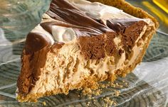 Hershey's Kitchens | Chocolate Marbled Peanut Butter Pie