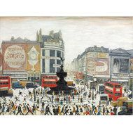 Lowry: Piccadilly Circus 1960