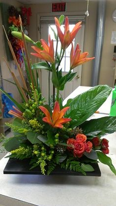 Tropical Arrangement designed by Dana