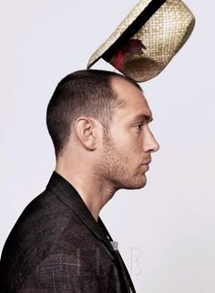 Jude Law with fedora