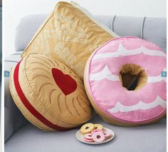 Biscuit cushion from not on the high st