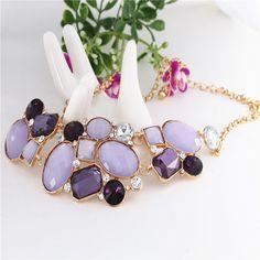 2015 Бросился Смола Ожерелье Новый Модные Аксессуары Ювелирные Изделия Ожерелья…