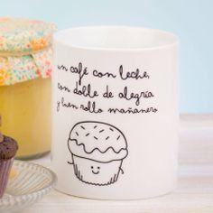 Hoy a desayunar con doble de alegría y buen rollo mañanero para combatir la hora de menos de sueño. ¡Buenos días! Fuente: Mr. Wonderful
