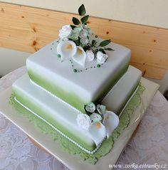 Dorty, řezy, dobroty - Fotoalbum - Moje dorty tematicky řazené - Svatební dorty