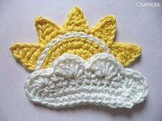 Free Crochet Pattern: The Rising Sun