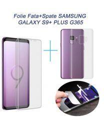 Folie Fata + Spate Samsung Galaxy S9+ Plus G965 Acoperire Completa Ecran si Spate