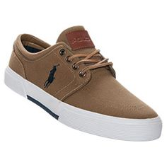 For my man <3.<3 Men's Polo Ralph Lauren Faxon Low Casual Shoes | FinishLine.com | Tan