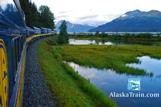Alaska Railroad Coastal Classic Train Route | AlaskaTrain.com