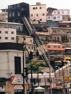 Chile: ascensors, in Valparaíso; most interesting form of public transport. Latin America, South America, Southern Cone, Indiana University, Public Transport, In This World, Transportation, Mexico, Around The Worlds
