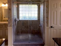 Last Year We Took Out A Big Garden Tub And A Tiny Shower And Replaced Them  With A New Walk In Shower That Is Finished Off Beautifully With A Large  Maxx ...