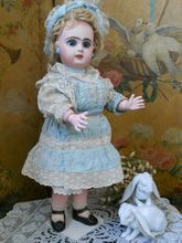 ~~~ Beautiful French Bisque BeBe Jumeau with Factory Costume ~~~