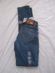 Levi's Bold Curve Skinny Leg Low Rise Curvy Loving Color Medium Denim 068010047 #Levis #SkinnyLeg