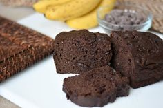 Protein Brownie Batter Banana Bread