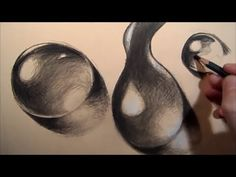 How to Draw Water Drops, Step by step