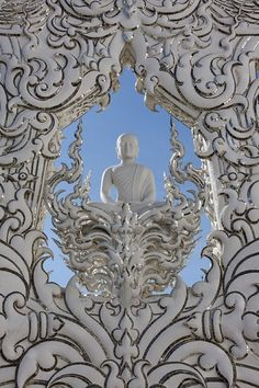 Wat Rong Khun, Chiang Rai, Chiang Rai Province, Thailand. Via Wikimedia Commons.  In Thailand, a Buddhist Artist Is Building the Bizarre Temple of His Dreams