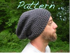PATTERN SIMPLE and EASY The Perfect Slouch Unisex by swellamy