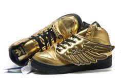 jeremy scott shoes | Adidas Originals Jeremy Scott JS Wings Gold Shoes