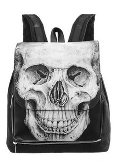 Restyle Human Skull backpack