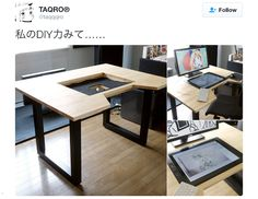 The DIY project, complete with an embedded graphics tablet, is inspiring digital illustrators everywhere.