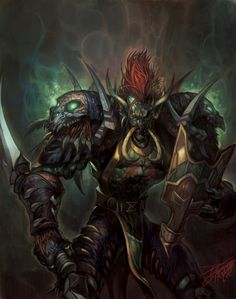 Characters of Wow / Warcraft - Vol'jin