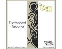 Loom Bracelet Pattern: Crazy Curlz от VikisBeadingPatterns