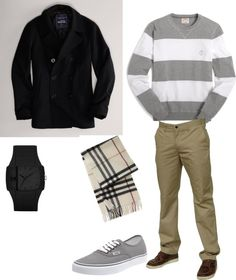 """Men's Casual Wear"" by itssosimple on Polyvore"