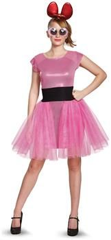 PartyBell.com - Powerpuff Girls Blossom Deluxe Adult Costume