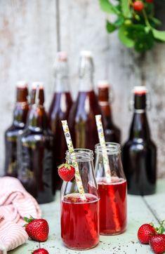 Preserves, Alcoholic Drinks, Strawberry, Wine, Fruit, Glass, Food, Mat, Prom Dresses
