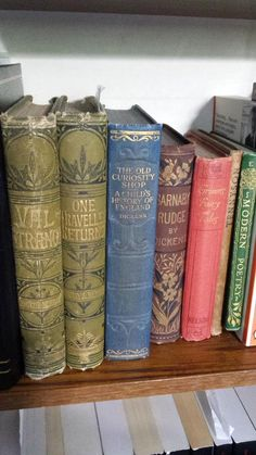 The different fonts on some of my old books  via @Patrician454
