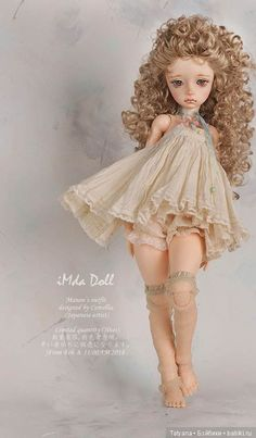 Soom Neo Angelregion will sell Manon / Doll soom / Baby - Puppen - Clay Dolls, Bjd Dolls, Over 60 Hairstyles, Curly Hairstyles, 1950s Hairstyles, Realistic Dolls, Toddler Dolls, Little Doll, Doll Repaint