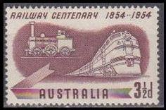 1954 Australia Mi.248 Locomotives
