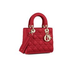 My ABCDior lambskin bag - Bags - Women's Fashion Red Purses, Purses And Bags, Dior Purses, Sac Lady Dior, Christian Dior, Giuseppe Zanotti Shoes, Red Bags, Beautiful Handbags, Luxury Bags