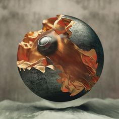 Core #octanerender #maxon #cinema4d #c4d #3dcg #cg #wallpaper #render #geometry #graphicdesign #dynamics #texture #entropy #abstract #graphicart #shotamaehara #digitalart #orange #metal #c4dart