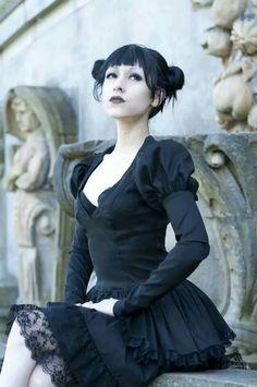 Goth girl.