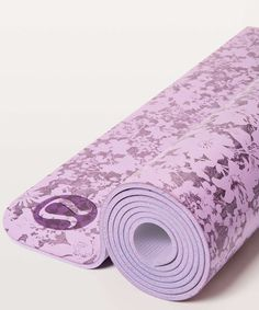 700c77cd73 Lululemon The Reversible Mat 5mm - Efflorescent Violetta Smoked Mulberry /  Violetta