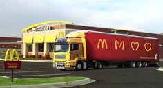 Ronald McDonald House by Chad Nauta, via Behance