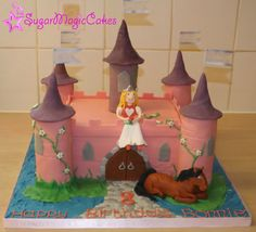 Princess castle with horse :-)