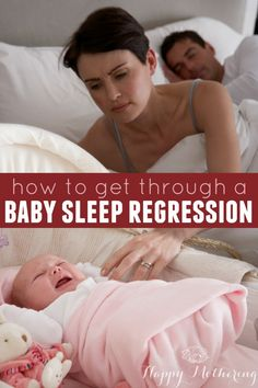 How to Get Through a Baby Sleep Regression via @happymothering