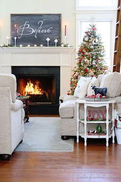 Christmas Mantle Inspiration | AO at Home Blog