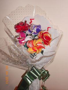 Decora con rosa y Maite: ramo de rosas variadas