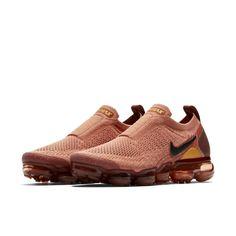 Nike Air VaporMax Flyknit Moc 2 Women s Running Shoe - Brown Nike Air  Vapormax 7f5534f2e