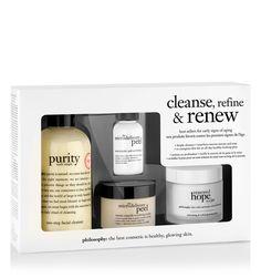 cleanse, refine & renew kit