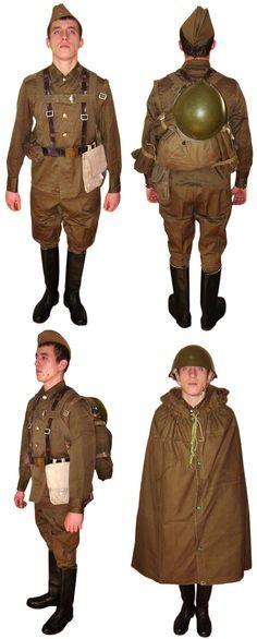USSR Army Soldier WW2 uniform M69