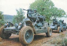 Chenoweth Big Buggy All Terrain Light Strike Vehicles.