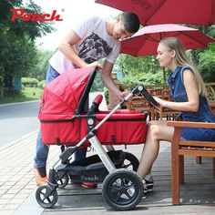 329.88$  Buy here - http://alidwp.worldwells.pw/go.php?t=32790976919 - Stroller pouch baby child car baby stroller suspension light folding bb car