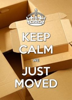 OTTI - keep calm en kartonnen dozen kaart (Voorzijde)
